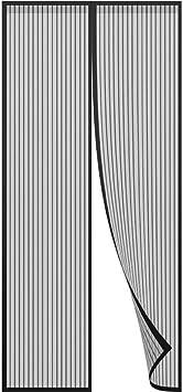 Wei/ß Magnetischer Fliegenvorhang Moskitonetz 105x220cm Faltbar for T/üren//Patio Magnetische Adsorption Auto Schlie/ßen Luft kann frei str/ömen Insektenschutz Magnet Fliegenvorhang