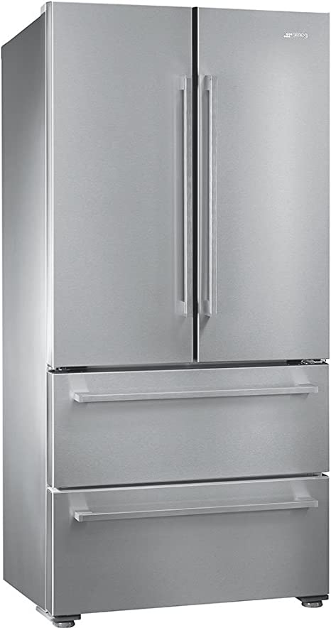 Smeg FQ55FX1 Independiente 539L A+ Acero inoxidable nevera puerta ...