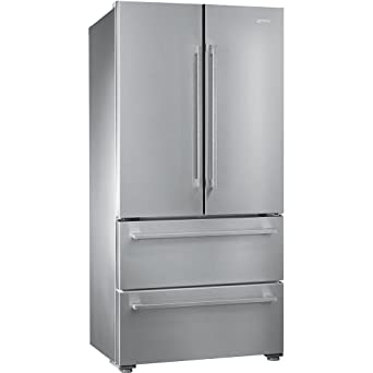 Smeg FQ55FX1 Independiente 539L A+ Acero inoxidable nevera ...