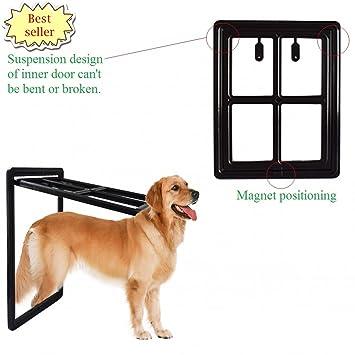 PETRICH Magnetic window screen pegs doggy window gate Pet Doors Gates u0026 R&s for dog screen  sc 1 st  Amazon.com & Amazon.com : PETRICH Magnetic window screen pegs doggy window gate ... pezcame.com
