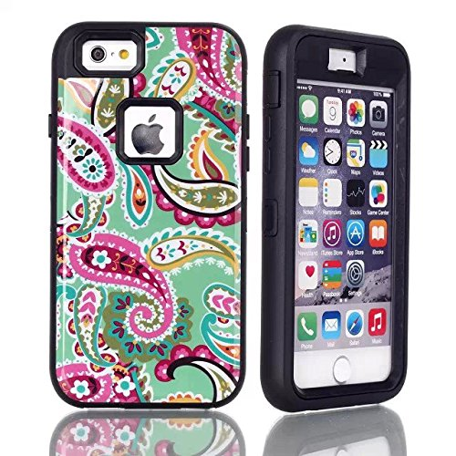 IPhone 6S Case, DRUnKQUEEn Shell Shockproof Scratch Proof Shock Proof Glass Dustproof Resistant Armor Protection Cover for iPhone6 / iPhone6S (4.7 in) - Provide Reliable Protection