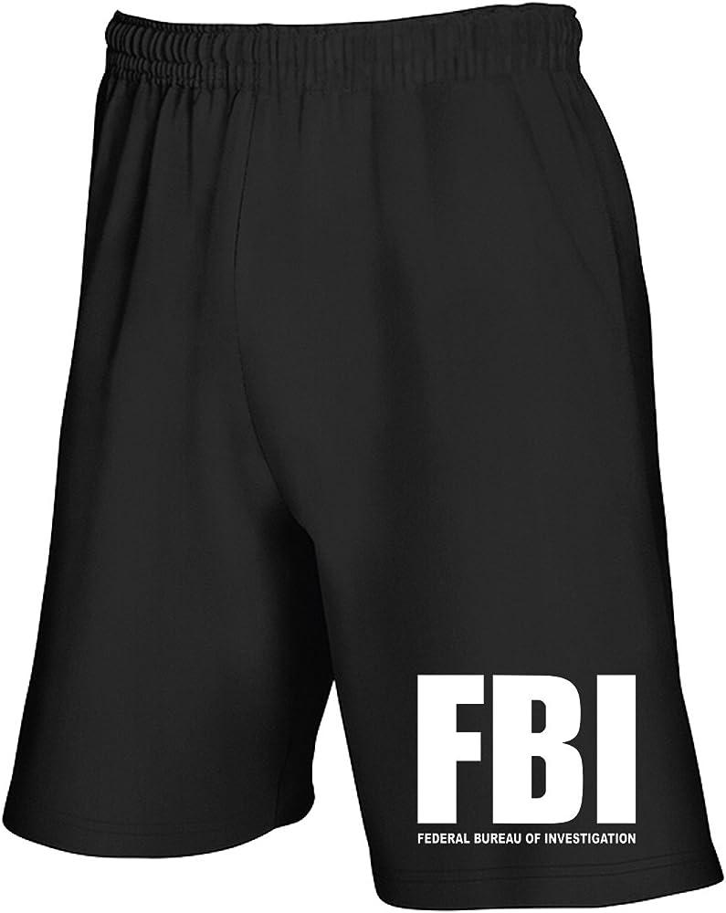 Speed T0131 FBI - Pantalón Corto de chándal para Hombre, Color ...