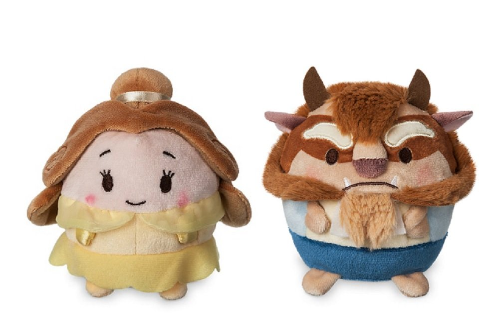 Amazon.com: Beauty & Beast Princess Belle & Beast Scented Ufufy Plush - Small: Toys & Games