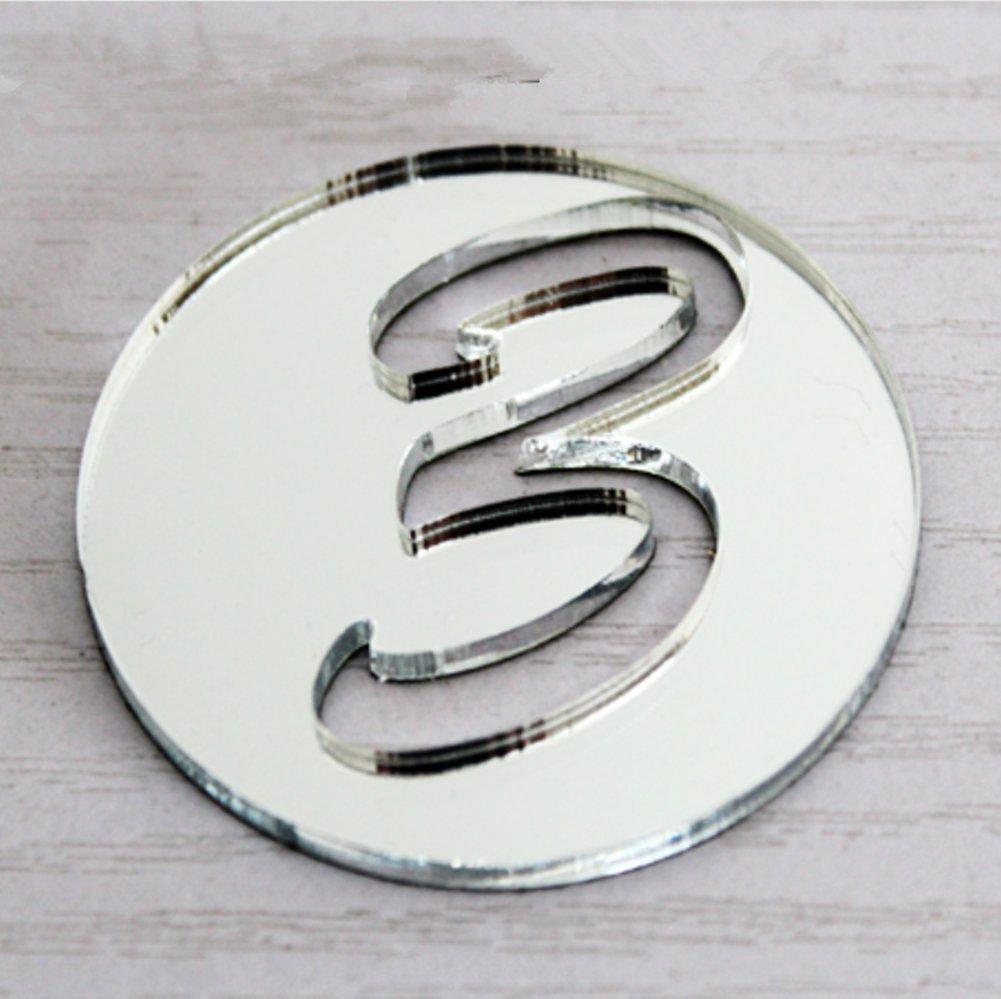 DIY Modern Stumm Wanduhr 3D Acryl Spiegeleffekt Wandaufkleber Große ...