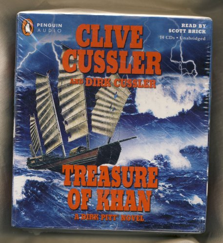 By Clive Cussler, Dirk Cussler: Treasure of Khan (Dirk Pitt) [Audiobook] by Penguin Audio