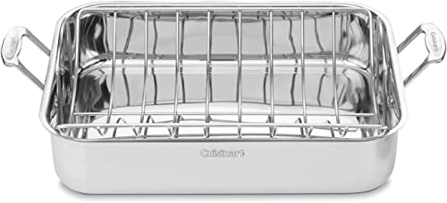 Cuisinart-Chef's-Classic-Stainless-16-Inch-Rectangular-Roaster-with-Rack