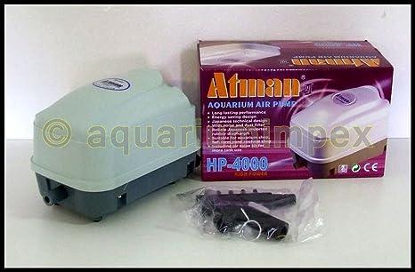 Atman HP de 4000 Aire Membrana Bomba de oxígeno aireador ...