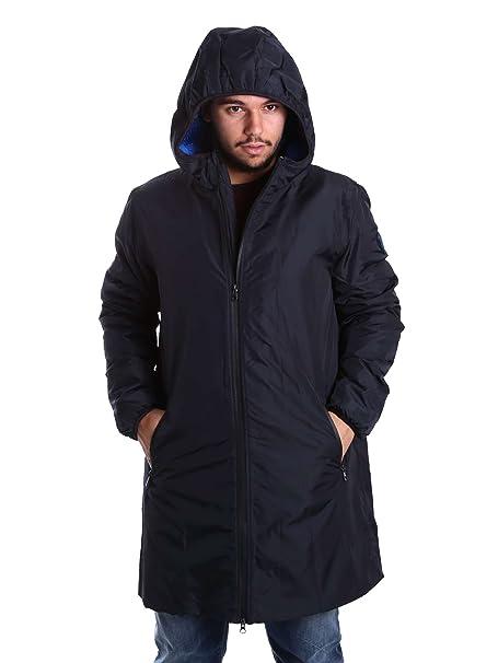 Emporio Armani EA7 chaqueta cazadoras de hombre chapucha nuevo blu, Azul, M (UK