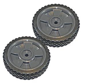 """Black & Decker CMM1200 Replacement (2 Pack) 7"""" Mower Wheel # 242600-01-2pk"""