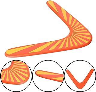 Lunji Boomerang en Forme de V Jeux de Plein Air pour Enfant Adulte