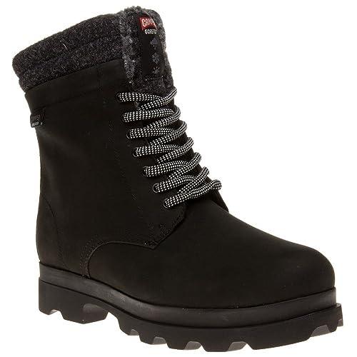 714904525a856 Camper - Botas de piel vuelta para mujer negro negro  Amazon.es  Zapatos y  complementos