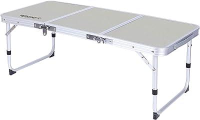 REDCAMP キャンプ 折りたたみテーブル アウトドア ピクニック 3つ折り