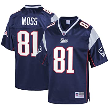 hot sales a4e8b c1478 Amazon.com : Mitchell & Ness Randy Moss New England Patriots ...