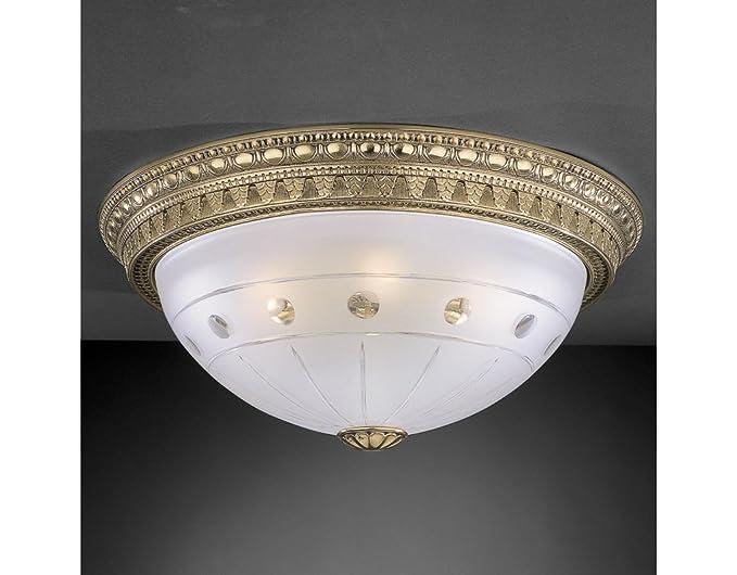 Plafoniera Con Lampada A Vista : La lampada romana da soffitto e plafoniera classica con