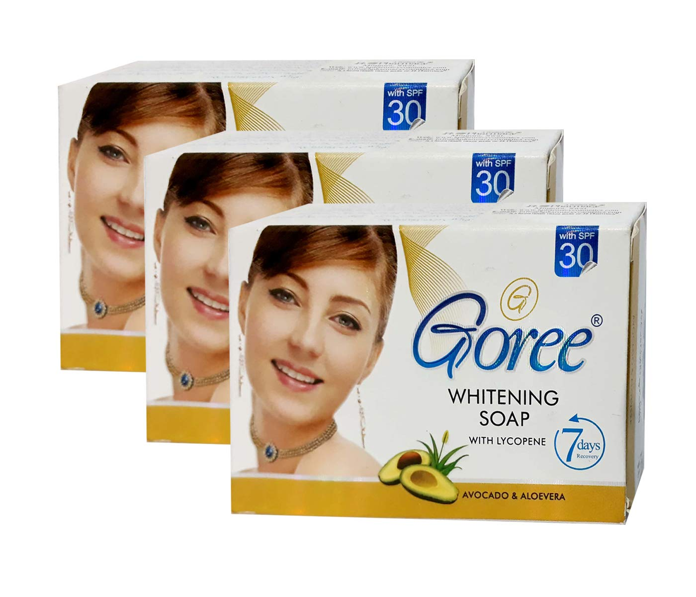 Goree Whitening Beauty Soap PACk Of 3