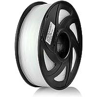 S SIENOC 3D-skrivare nylontråd 1,75 mm 3D-skrivartråd transparent 1 kg (nylon genomskinlig)