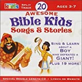 20 Awesome Bible Kids Songs & Stories Ages 3-7 Split Track