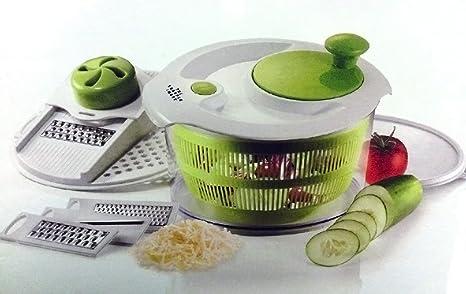 Buy The Sharper Image Salad Spinner Mandoline Slicer 4 In 1 Spin