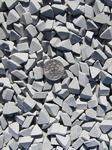 1 Lb 3//8 X 5//8 Abrasive Ceramic Tumbling Tumbler Tumble Media M-GENERAL PURPOSE