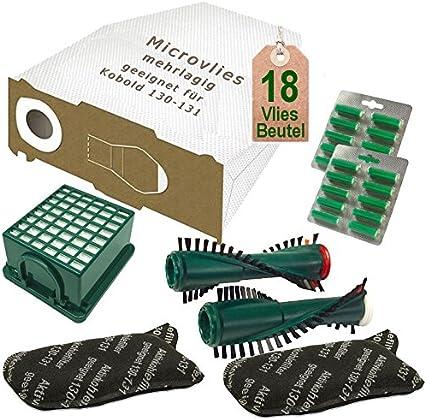 Spazzole adatto per Vorwerk Folletto 131 e EB 350 4 Filtri