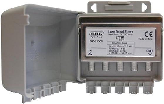 Filtro Antena TV Digital de palo para señales LTE: Amazon.es ...