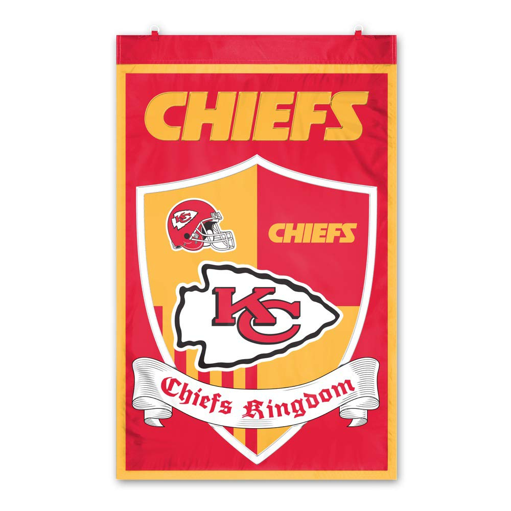 Party Animal Kansas City Chiefs Shield Banner by Party Animal