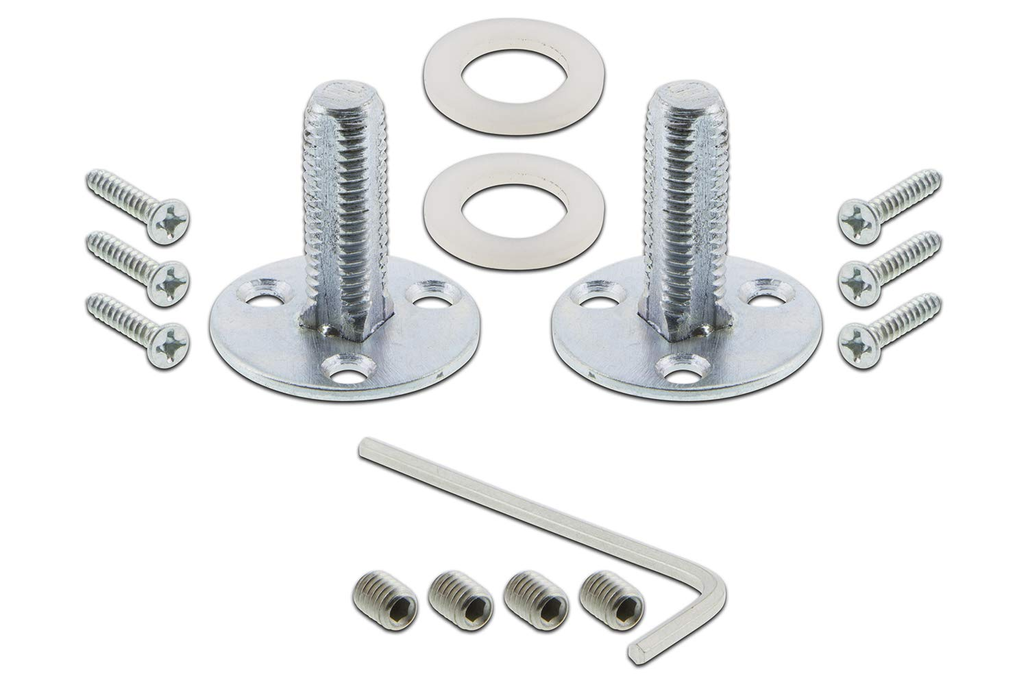 Satin Nickel 702123 Nostalgic Warehouse BN22-ROPCRY-SN Rope Rosette with Crystal Double Dummy Knob