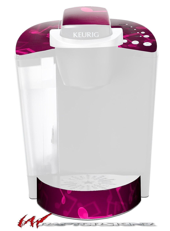 Bokeh音楽ホットピンク – デカールスタイルビニールスキンFits Keurig k40 Eliteコーヒーメーカー( Keurig Not Included )   B017AK7BS6