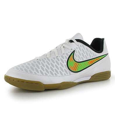 low priced 9c45a 9551f Nike Magista Ola Ic, Futsal Herren, White-Poison Green-Black-Total ...