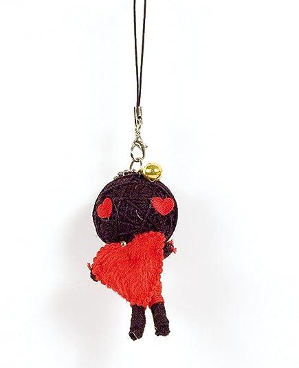 Muñeca de portátil, bolsa, Vodoodoo enamorados-Llavero ...