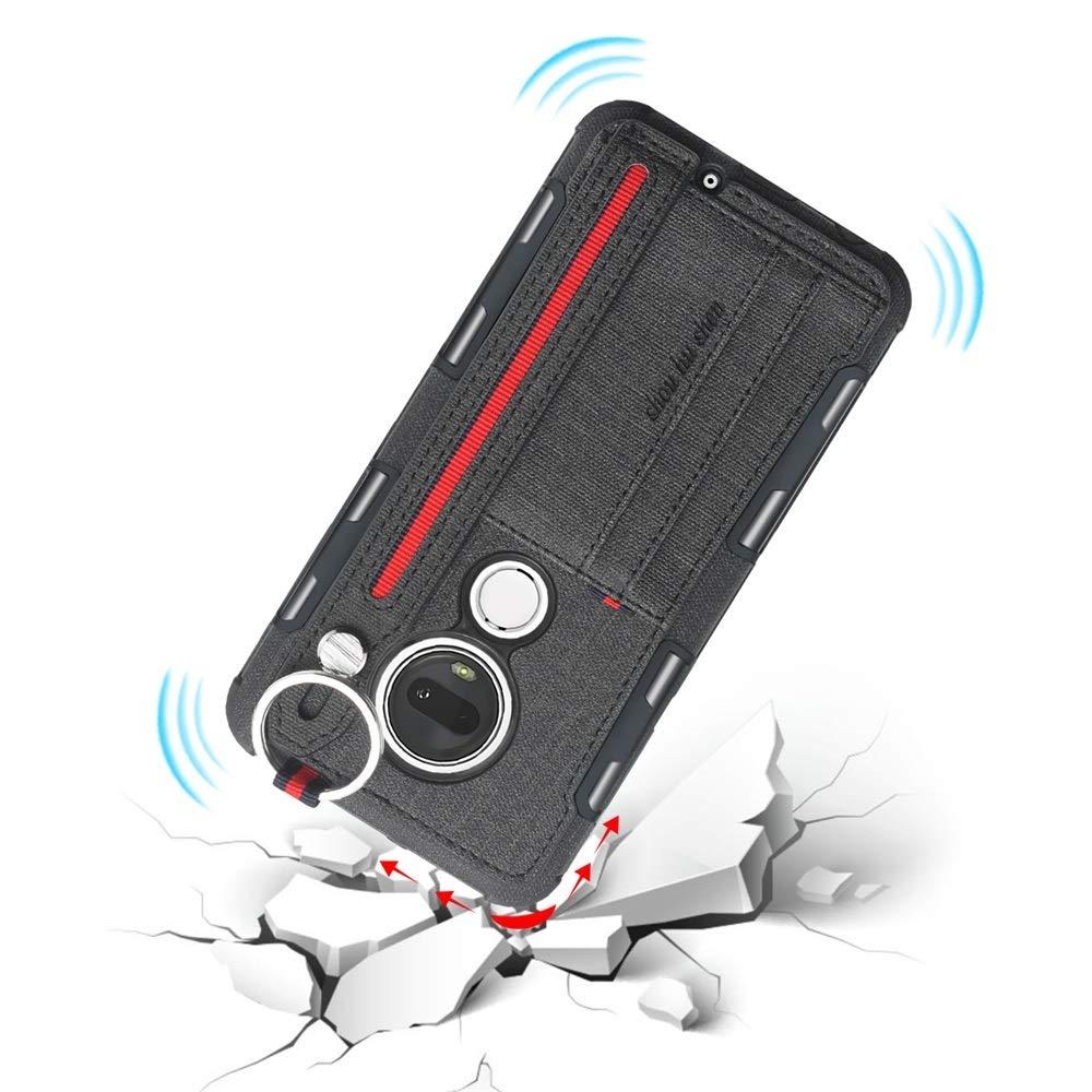 Amazon.com: CONGCASE Funda para teléfono móvil, textura de ...