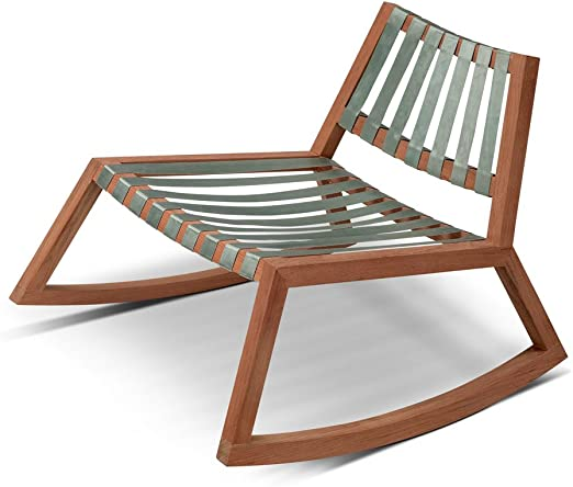 Vendia - Silla de jardín madera teca/plegable: Amazon.es: Hogar