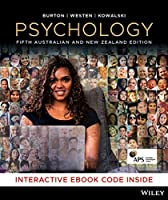 Psychology, 5th Australian and New Zealand Edition Front Cover