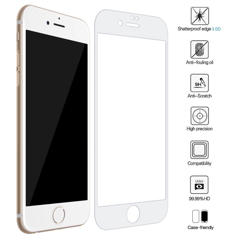 iPhone 8 Plus Panzerglas ZXK CO Full Screen Panzerglas Amazon puter & Zubehör