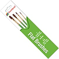 Airfix Flat Synthetic Hair Brush Pack
