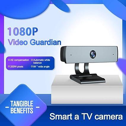Cámara Web 10 Millones de píxeles con micrófono Smart TV IPT Control Remoto Cámara HD 1080P USB 2.0 Unidad con Cable Cámara Web Gratuita: Amazon.es: Electrónica