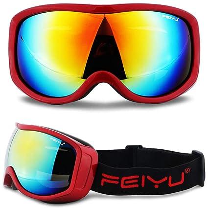 6e5bae2a53 Amazon.com  Polarized Sunglasses Glasses - Ski Snowboard Goggles UV ...