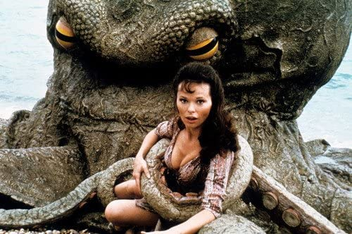 Warlords of Atlantis Lea Brodie Sexy Busty 24x36 Poster captured by giant  sea creature at Amazon's Entertainment Collectibles Store