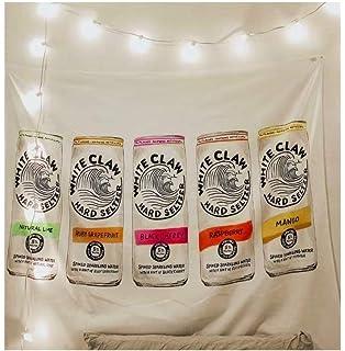 White Claw Black Cherry, 6 pk, 12 oz cans, 5% ABV: Amazon