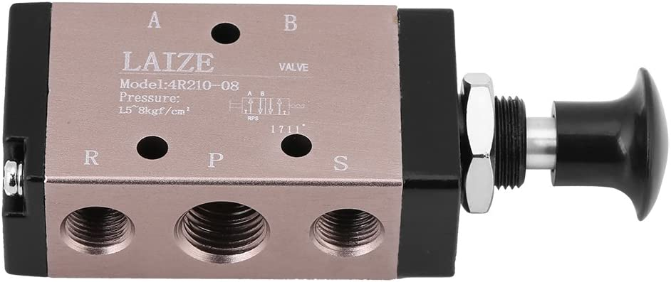 gaixample.org 1pc 4R210-08 Manual Control Valves Hand Push Pull ...