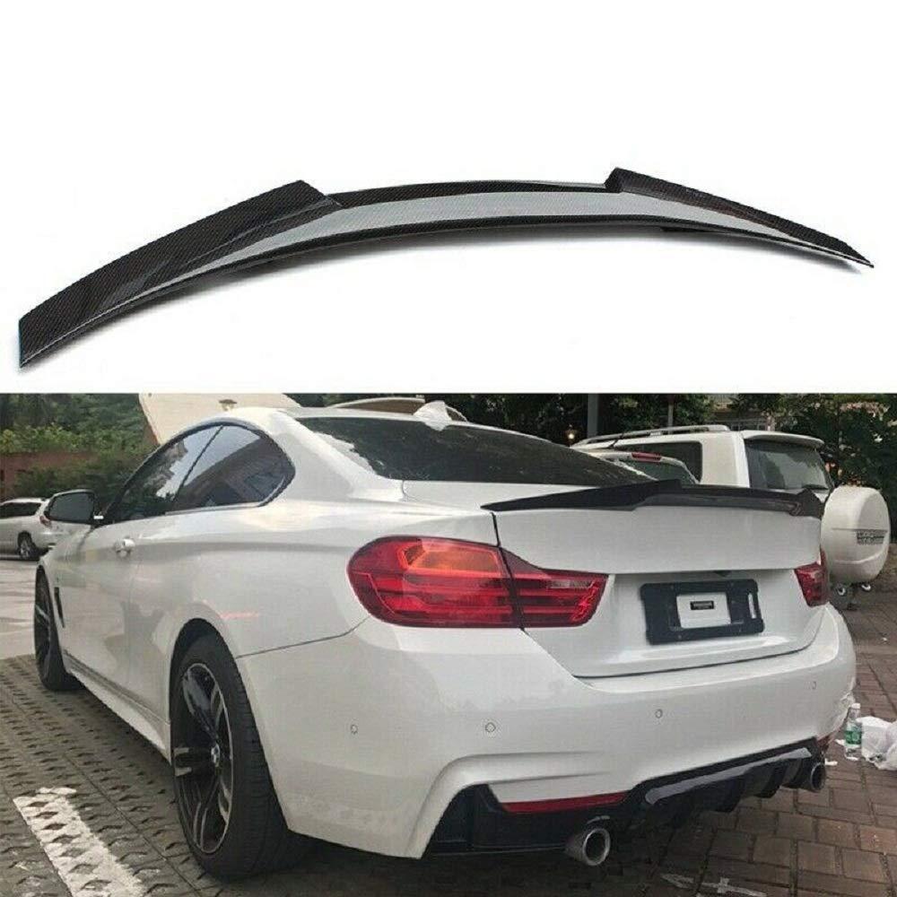 2019 Passend f/ür BMW Karbonfaser-Heckspoiler 4er-Serie F32 Coupe M4 Stil 2014
