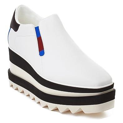 92e5c88b894cb Stella McCartney Women s Leather Platform Shoes White