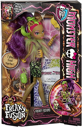 Monster High Freaky Fusion Clawvenus Doll - Horse Friends Diary