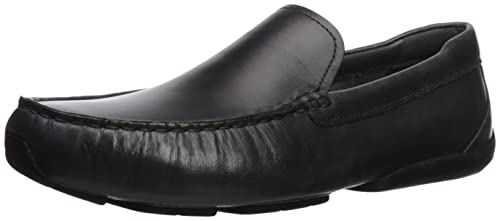 Men's Cole Haan Branson Penny Driver, Size: 8 M, Black Tumbled Leather