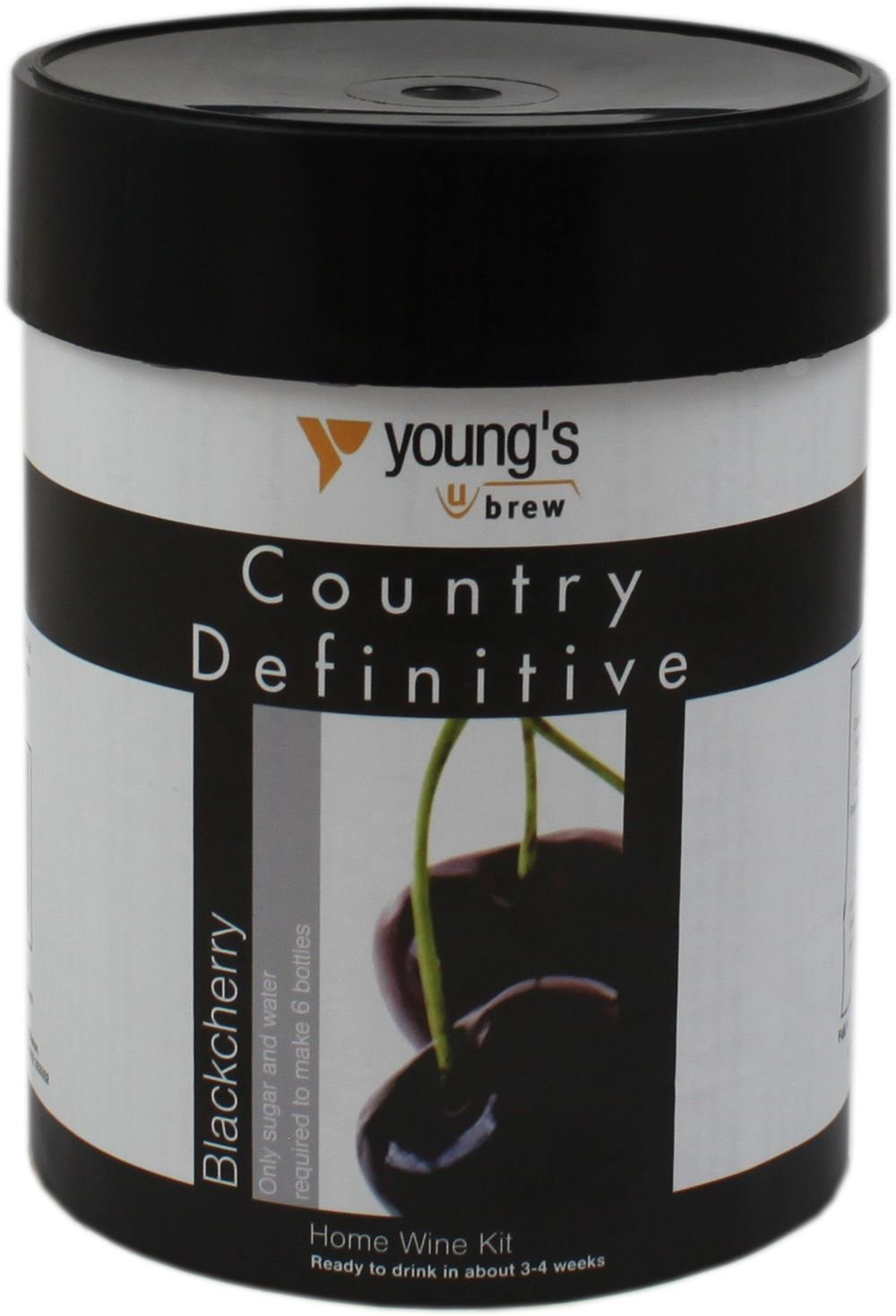 Youngs Country Definitive Black Cherry Wine Kit 6 Bottle