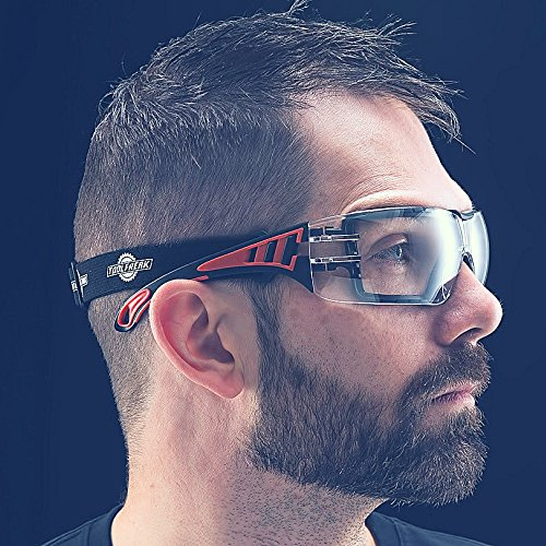 ToolFreak Rip Out Safety Glasses with Foam Padding,Protective Eyewear with Improved Vision For Men and Women,Impact and… 2
