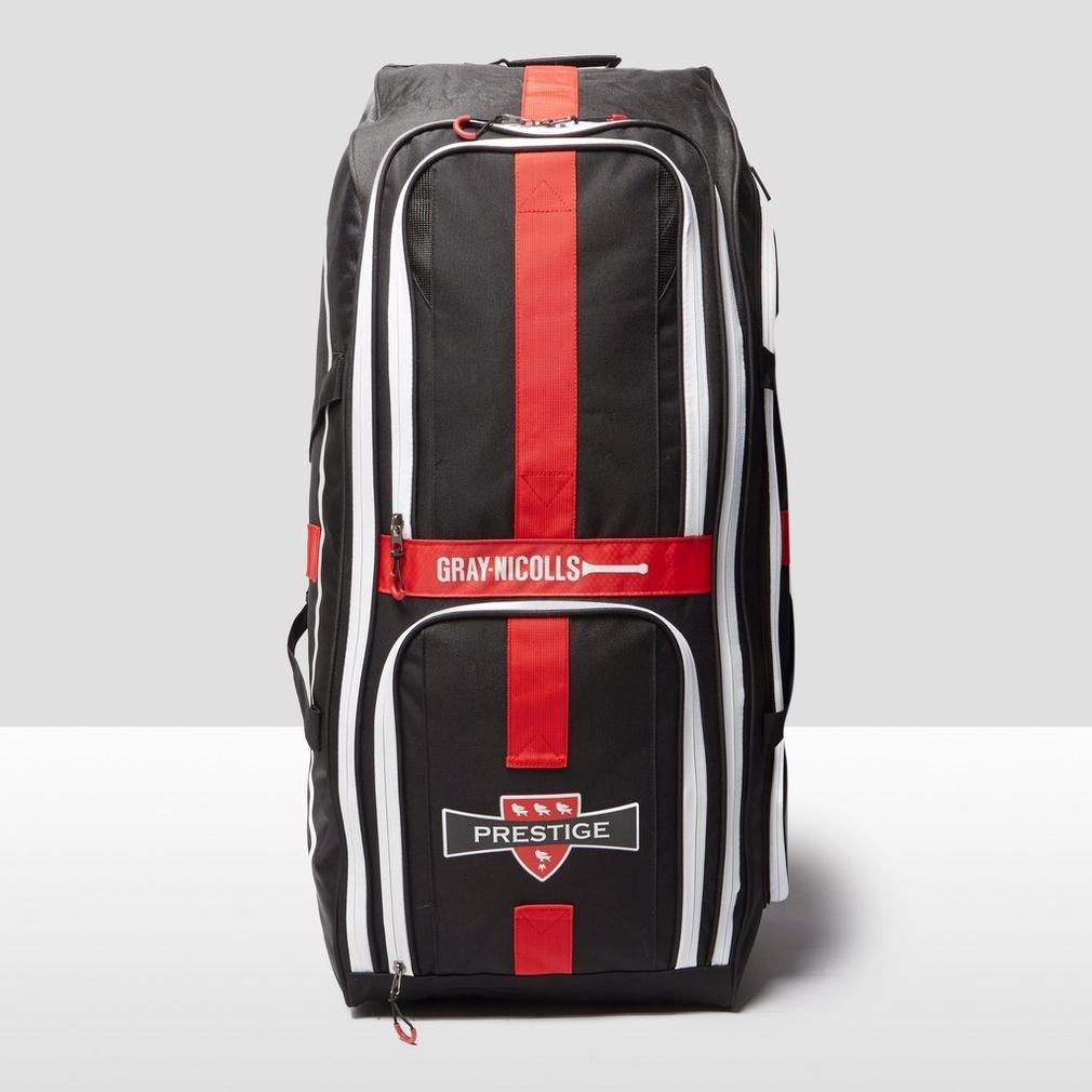 2019 Gray Nicolls Prestige Duffle Bag Red//Black//White Free P/&P