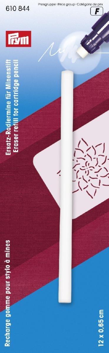 Prym - Ricarica gomma per cancellare per cartuccia matita, colore: Bianco PRYM_610844-1