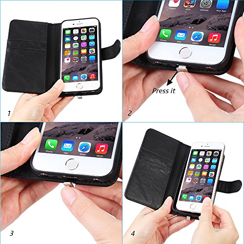 super popular 607eb 7ea7d iPhone 6 6s 7 Qi Wireless Charging Receiver Phone Case Charger ...