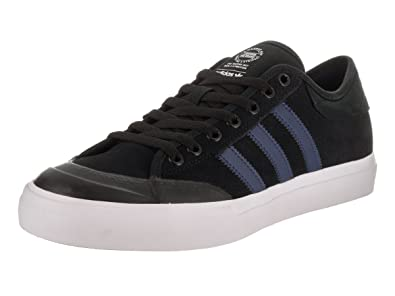 adidas Skateboarding Unisex Matchcourt ADV Black/Mystery Blue/White  Athletic Shoe